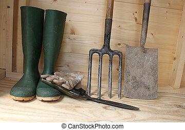 εργαλεία , κήπος