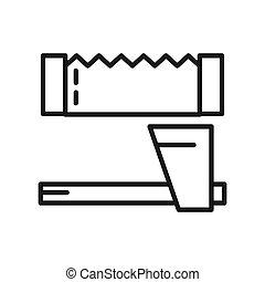 εργαλεία , ξυλοκόπος , σχεδιάζω , εικόνα