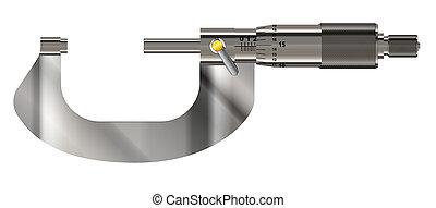 εργαλείο , μικρόμετρο , ακρίβεια , μεγάλος
