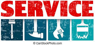 εργαλείο , σύμβολο , υπηρεσία