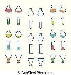 εργαστήριο γυαλικά , θέτω