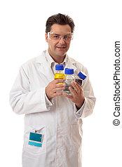 εργαστήριο , φαρμακοποιός , χημική ουσία