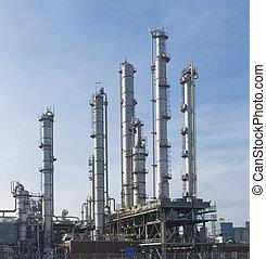 εργοστάσιο , χημικά πετρελαίου