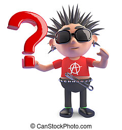 ερώτηση , έχει , δαδί , χαρακτήρας , απορία , σημαδεύω , εικόνα , hence, περίεργος , 3d