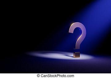ερώτηση , χρυσαφένιος , σκοτάδι , αποκάλυψα