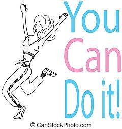 εσείs , μπορώ , it!