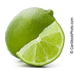 εσπεριδοειδές , απομονωμένος , φρούτο , φόντο , άσπρο , cutout , ασβέστηs