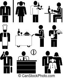εστιατόριο , απεικόνιση