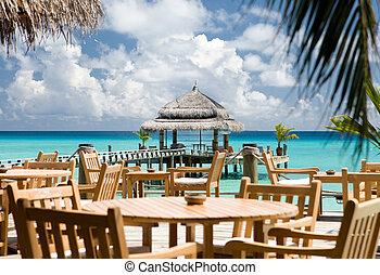 εστιατόριο , ουρανόs , - , του ωκεανού διαύγεια , βλέπω