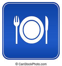 εστιατόριο , σήμα