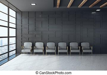 εσωτερικός , αίθουσα αναμονής