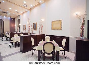 εσωτερικός , ξενοδοχείο , μοντέρνος , εστιατόριο