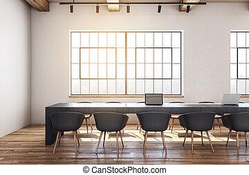 εσωτερικός , συνάντηση , σύγχρονος , δωμάτιο