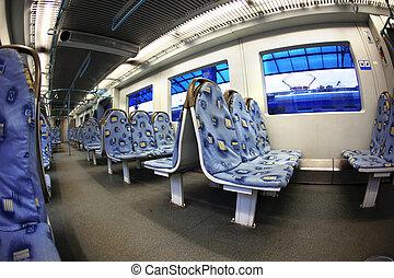 εσωτερικός , τρένο , μοντέρνος