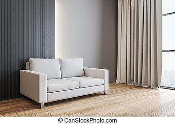 εσωτερικός , sofa., δωμάτιο , σύγχρονος , ζούμε