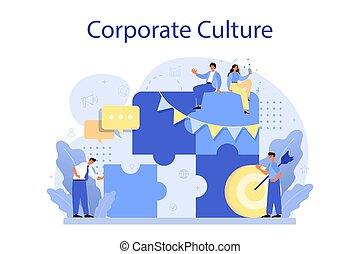 εταιρικός , concept., δεοντολογία , relations., επιχείρηση , μόρφωση