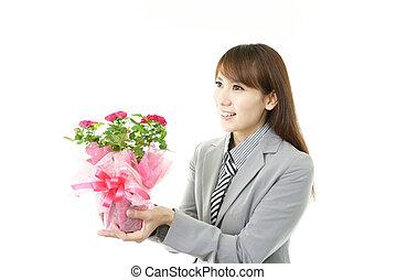 ευθυμία γυναίκα , επιχείρηση