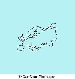 ευρασία , χάρτηs
