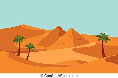 ευρύς , σύνολο , ρεαλιστικός , καραβάνι , άνθρωποι , μέσο , καμήλες , άμμος , east., ιππασία , εγκαταλείπω