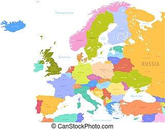 ευρώπη , χάρτηs , μικροβιοφορέας , γραφικός
