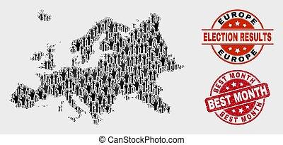 ευρώπη , χάρτηs , στενοχωρώ , watermark, κολάζ , μήνας , δέμα , καλύτερος