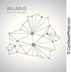 ευρώπη , χάρτηs , belarus , περίγραμμα , γκρί , μικροβιοφορέας