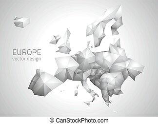 ευρώπη , polygonal, μικροβιοφορέας , χάρτηs