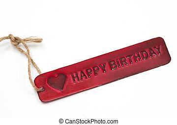 ευτυχισμένα γεννέθλια , επιγραφή