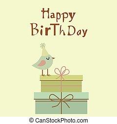 ευτυχισμένα γεννέθλια , κάρτα