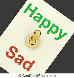 ευτυχισμένος , άθυμος , ανάβω , εκδήλωση , ότι , ευτυχία , βρίσκομαι , βαρυσήμαντος