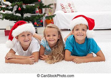 ευτυχισμένος , μικρόκοσμος , διακοπές χριστουγέννων εποχή