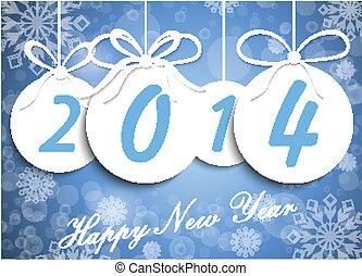 ευτυχισμένος , φόντο , νέο έτος
