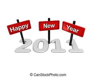 ευτυχισμένος , 2011, νέο έτος