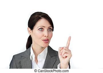 ευφυής , αναθέτω διαταγές , επιχειρηματίαs γυναίκα