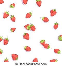 ευφυής , φράουλα , φόντο
