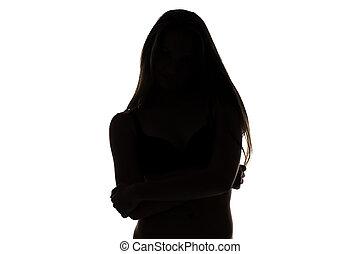 εφηβικής ηλικίας δεσποινάριο , αγκαλιά ανάποδος , σχήμα