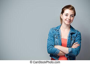 εφηβικής ηλικίας δεσποινάριο