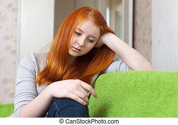 εφηβική ηλικία δεσποινάριο , έχει , απογοήτευση