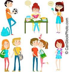 εφηβική ηλικία , ευτυχισμένος