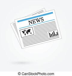 εφημερίδα , κόσμοs , νέα
