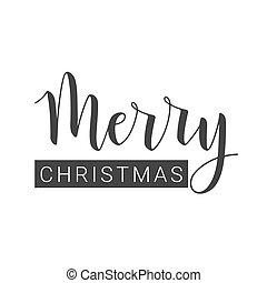εύθυμος , χαιρετισμός , handwritten , card., διακοπές χριστουγέννων. , γράμματα