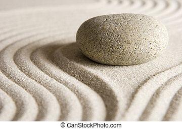 ζεν , πέτρα