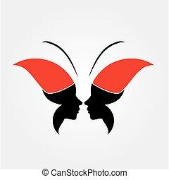 ζεσεεδ , από , ένα , κυρία , και , πεταλούδα