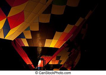 ζεστός , μπαλόνι , αέραs