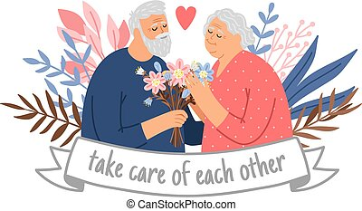 ζευγάρι , ανατροφή , παππούς και γιαγιά