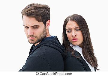 ζευγάρι , ατυχής , άλλος , έκαστος , αρνητικό δεν αγορεύω