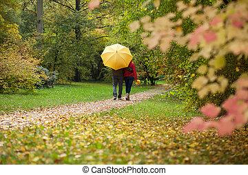 ζευγάρι , ομπρέλα