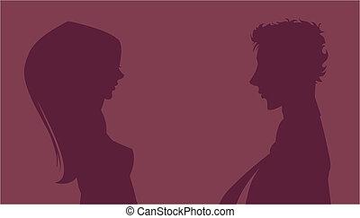 ζευγάρι , περίγραμμα