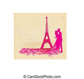 ζευγάρι , ρομαντικός , παρίσι
