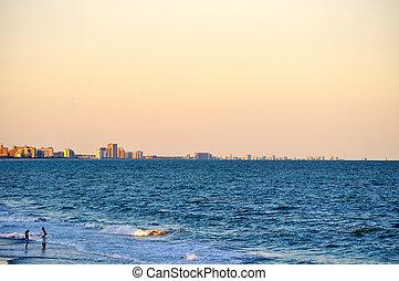 ζευγάρι , coastline-1, ανεμίζω , αποκαλύπτω , μυρτιά , παραλία